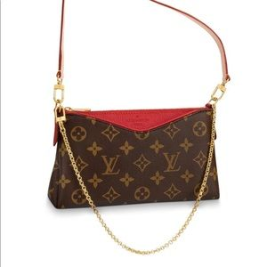 Louis Vuitton PALLAS CLUTCH Cherry *Brand New*